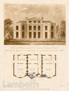 'THREE SMALL HOUSES', VAUXHALL ROAD, KENNINGTON