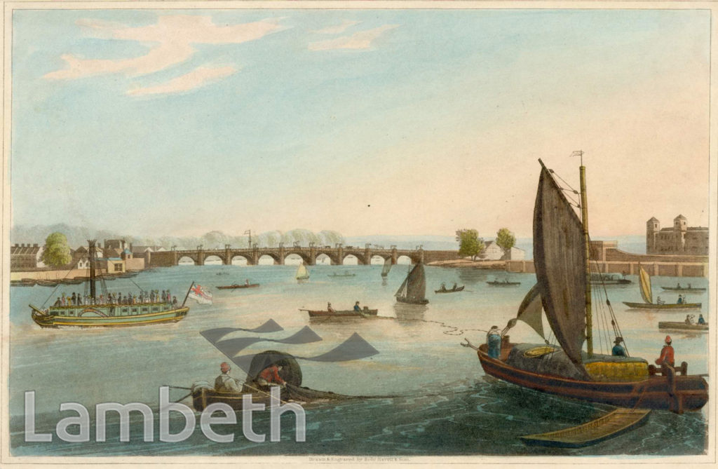 VAUXHALL BRIDGE, VAUXHALL