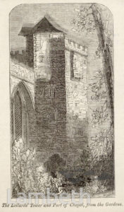 LAMBETH PALACE, LOLLARDS' TOWER, LAMBETH