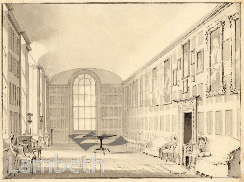 LAMBETH PALACE, LONG GALLERY,  LAMBETH