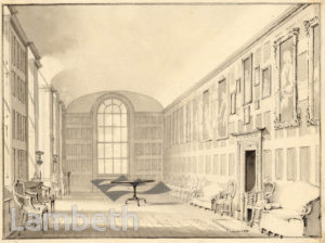 LAMBETH PALACE, LONG GALLERY,  LAMBETH