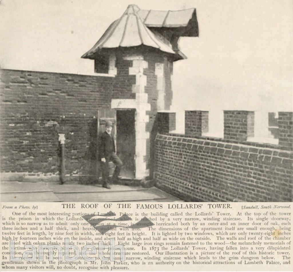 CURFEW BELL, LOLLARDS' TOWER, LAMBETH PALACE