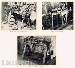 MAUDSLAY, SONS AND FIELD LTD., WATERLOO: MACHINE TOOLS