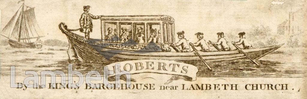 ROBERTS BARGEHOUSE, LAMBETH