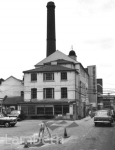 P. B. COW FACTORY, FACTORY SQUARE, STREATHAM COMMON