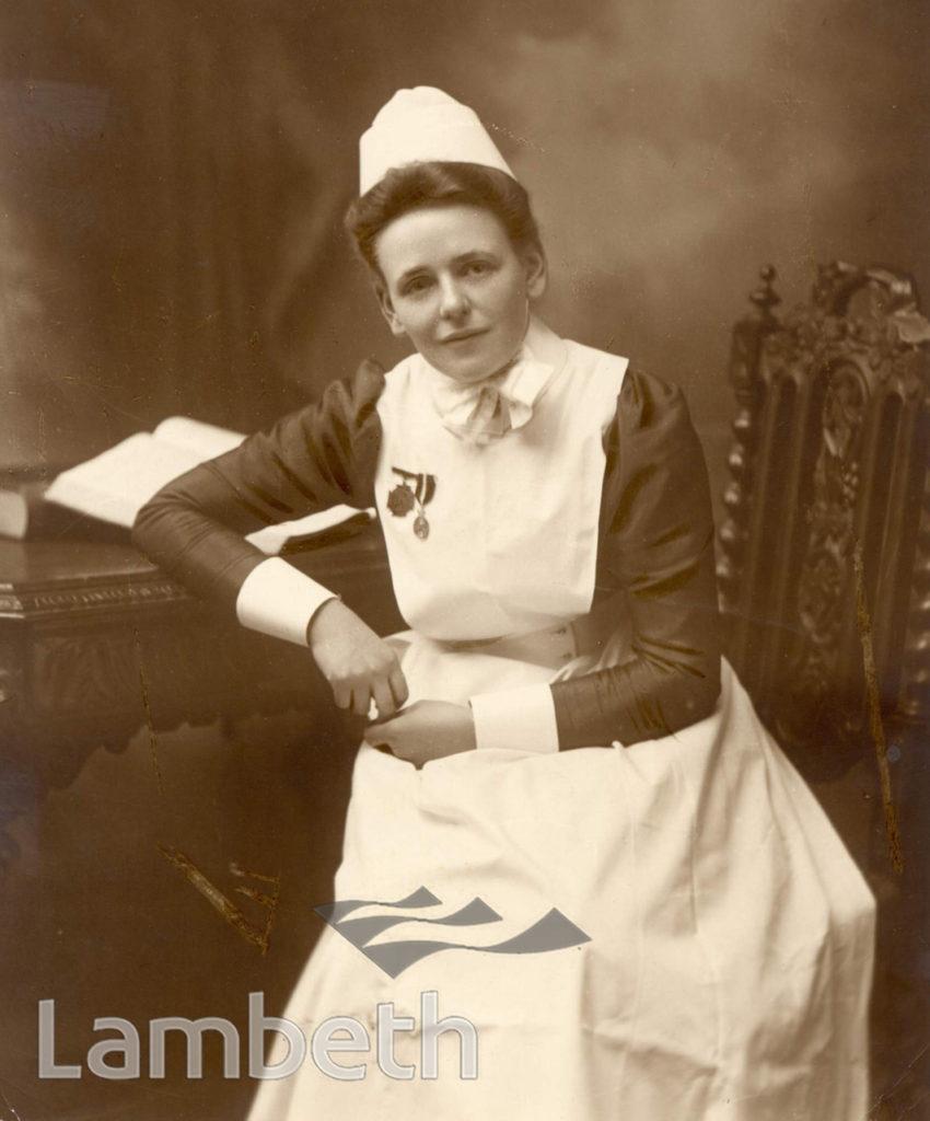 CLAPHAM MATERNITY HOSPITAL, JEFFREYS ROAD, STOCKWELL