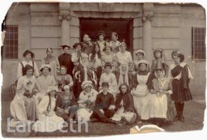 CLAPHAM MATERNITY HOSPITAL, JEFFREYS ROAD, STOCKWELL