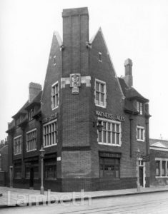 THE BELL PUBLIC HOUSE, LAMBETH ROAD, LAMBETH