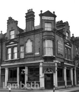 QUEEN'S HEAD, VAUXHALL WALK, LAMBETH