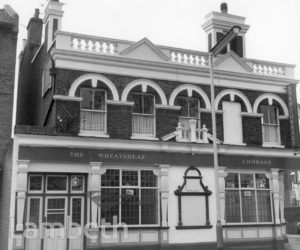 WHEATSHEAF, SOUTH LAMBETH ROAD, SOUTH LAMBETH