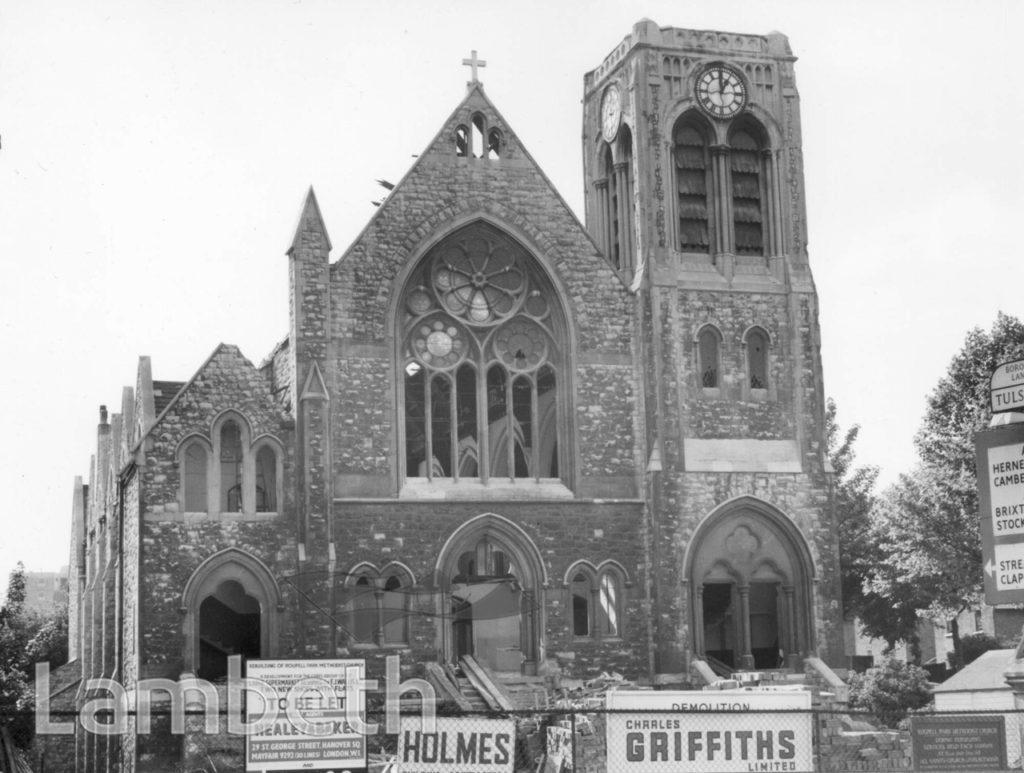 ROUPELL PARK METHODIST CHURCH, NORWOOD ROAD, TULSE HILL