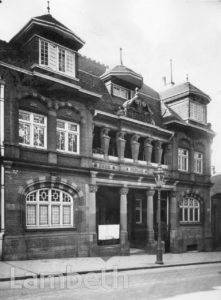 WEST NORWOOD LIBRARY, KNIGHT'S HILL, WEST NORWOOD