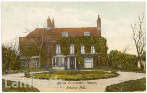 QUEEN ELIZABETH'S HOUSE, BRIXTON HILL