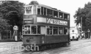 TRAM, BRIXTON ROAD, KENNINGTON