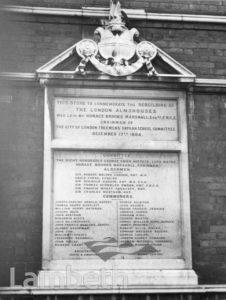 CITY OF LONDON FREEMAN'S ALMSHOUSES, BRIXTON CENTRAL
