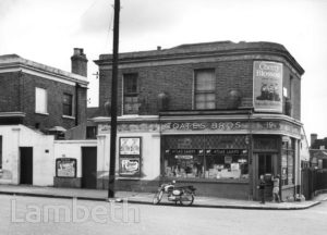 COATES BROS, UPPER TULSE HILL
