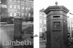 POST BOX, LANDSDOWNE WAY, STOCKWELL