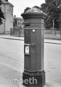POST BOX, STOCKWELL PARK ROAD, STOCKWELL