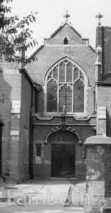 METHODIST CHURCH, FENTIMAN ROAD, SOUTH LAMBETH