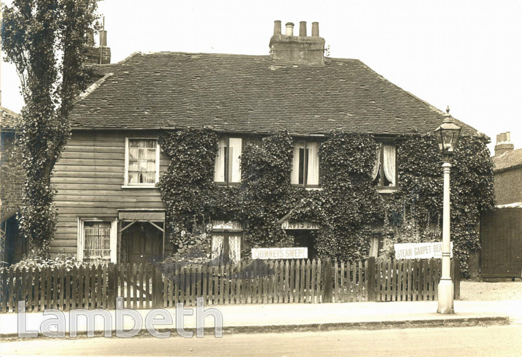 OLD HOUSE IN GREYHOUND LANE, STREATHAM COMMON