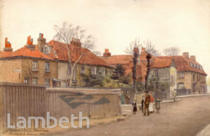 COTTAGES, GREYHOUND LANE, STREATHAM VALE