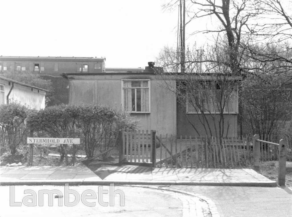 PREFABRICATED HOUSE, STERNHOLD AVENUE, STREATHAM