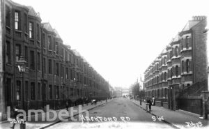 HACKFORD ROAD, BRIXTON