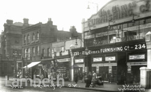 TIMES FURNISHING CO., BRIXTON ROAD, BRIXTON NORTH