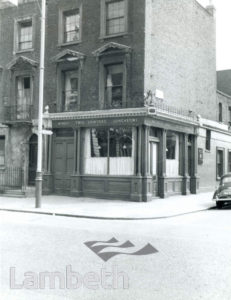 TWO SAWYERS PUBLIC HOUSE, 81 LAMBETH PALACE ROAD, LAMBETH