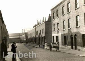 HEMANS STREET COTTAGES, LAMBETH SOUTH