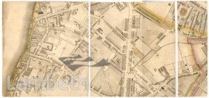 MAP OF LAMBETH NORTH AND KENNINGTON