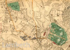 NORWOOD AND CRYSTAL PALACE MAP