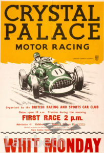MOTOR RACING, CRYSTAL PALACE, UPPER NORWOOD