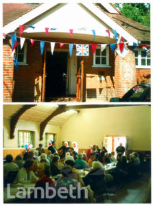 ST LEONARD'S HALL, VE DAY CELEBARATIONS, STREATHAM CENTRAL