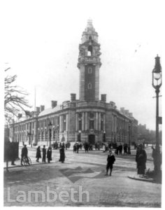LAMBETH TOWN HALL, BRIXTON CENTRAL