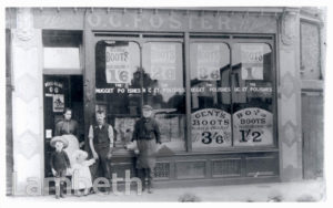 O.G.FOSTER, BOOTMAKER, DALBERG ROAD, BRIXTON CENTRAL