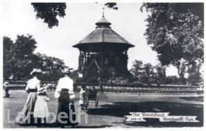 BANDSTAND, BROCKWELL PARK, HERNE HILL