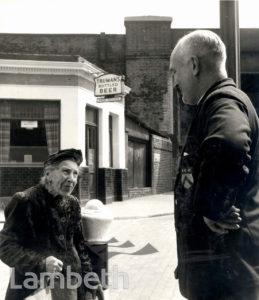 REVD.PAUL GEDGE, ROYAL STREET, LAMBETH