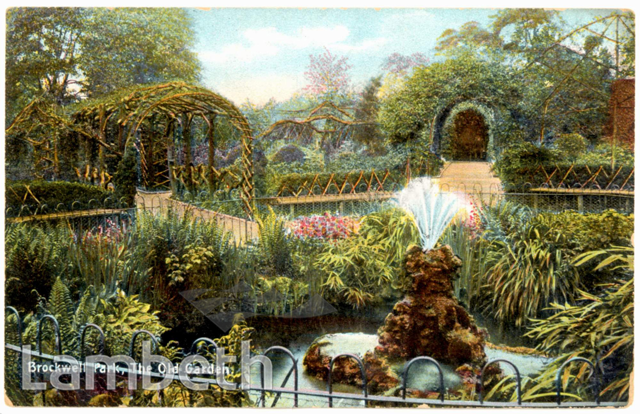 Old Garden Brockwell Park Herne Hill Landmarklandmark