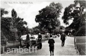 MAIN WALK, BROCKWELL PARK, HERNE HILL