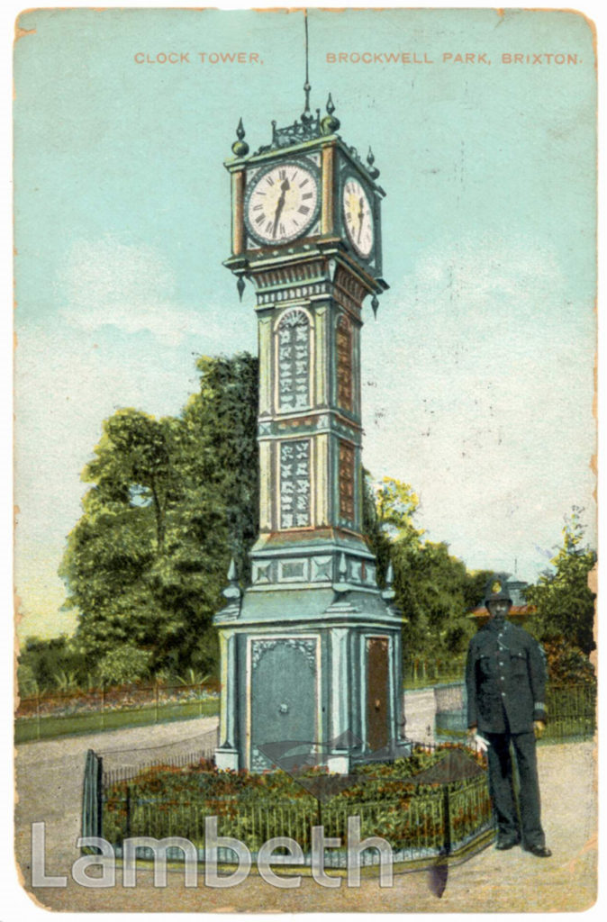 CLOCK TOWER, BROCKWELL PARK, HERNE HILL