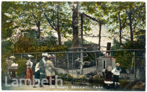 THE AVIARY, BROCKWELL PARK, HERNE HILL