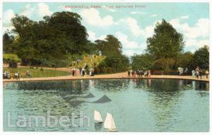 BATHING POND, BROCKWELL PARK, HERNE HILL