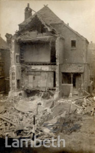 BOMBED HOUSE, KNATCHBULL ROAD, BRIXTON NORTH