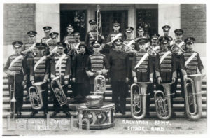 SALVATION ARMY BAND, LOUGHBOROUGH JUNCTION