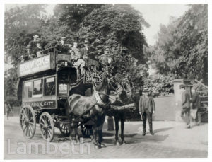 HORSE BUS, BRIXTON TO THE CITY