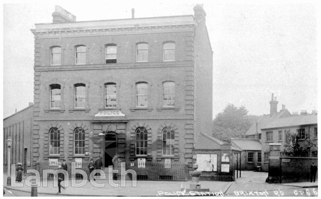 BRIXTON POLICE STATION, BRIXTON ROAD