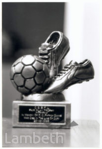 CLAPHAM FOOTBALL LEAGUE TROPHY