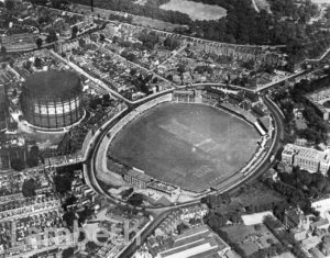 AERIAL VIEW OF THE OVAL, KENNINGTON