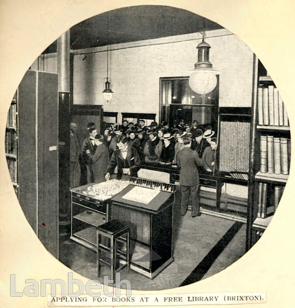 TATE LIBRARY, BRIXTON OVAL, BRIXTON CENTRAL